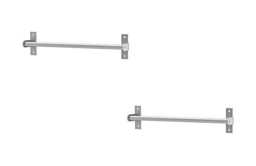 Ikea Küchenleiste, Edelstahl, dekorativer Organizer (2 Packungen), 40 cm
