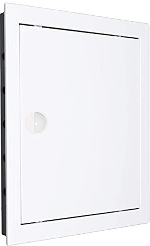 Revisionstür Revisionsklappe Revision. Hochwertig ABS-Kunststoff weiß. Größen wählbar. (30x30 - AD30/30)