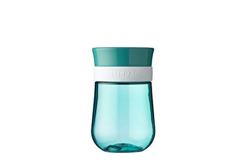 Mepal Mio – 360° Trinklernbecher deep turquoise – Trinklernbecher ab 9 Monate – auslaufsicher – spülmaschinengeeignet