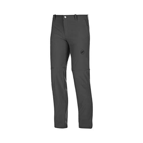 Mammut Herren Wander-Hose mit Reissverschluss Runbold Zip Off, grau, EU 54 lang