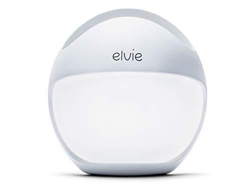 Elvie Curve manuelle tragbare Brustpumpe - Silikon-Milchpumpe für einfaches Abpumpen, die bequem im BH getragen werden kann und beide Hände frei lässt