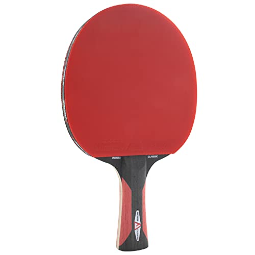 JOOLA Tischtennisschläger ROSSKOPF CLASSIC ITTF zugelassener Tischtennis-Schläger für Profi-oder Vereinsspieler-Compwood Technologie, 2,00 MM Schwamm