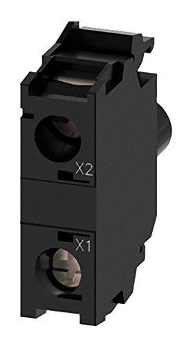 Siemens SIRIUS ATC LED-Modul 230V rot Borne Feststellschraube für Frontplatte