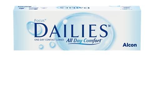 Focus Dailies All Day Comfort Tageslinsen weich, 30 Stück / BC 8.6 mm / DIA 13.8 / -9.5 Dioptrien