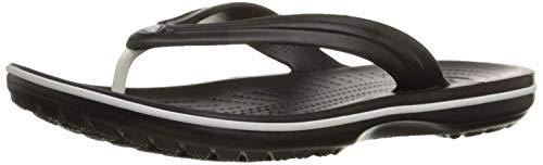 Crocs Crocband Flip 11033-001 Damen Pantolette bis 30mm Absatz, Größe 42