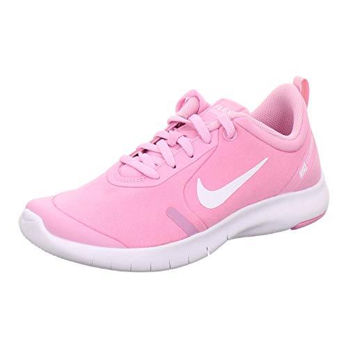 Nike Damen Flex Experience Rn 8 Gs Leichtathletikschuhe, Mehrfarbig (Pink Rise/White/Pink Foam 600), 36.5 EU