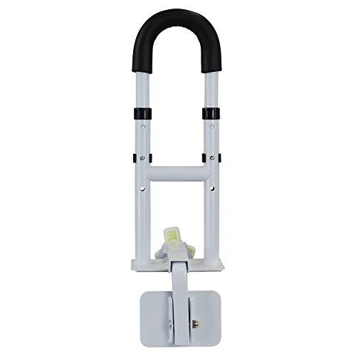 flexilife Einstiegshilfe Badewanne für Senioren, bis 130 kg belastbare Armlehne, multifunktionale Einsteigshilfe für Badewannen, weiß
