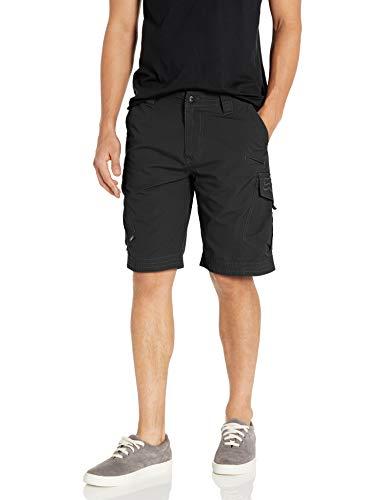 Fox Slambozo Herren-Cargo-Shorts, Standard-Passform, 55,9 cm, Leinen, Schwarz, Größe 38