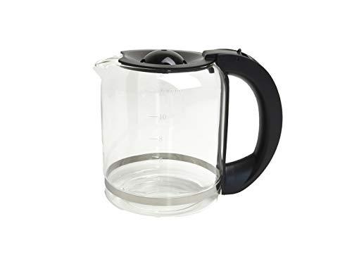 Domo 1,5 Liter Glaskanne, Universal-Ersatzkanne für Domo Kaffeemaschine DO417KT