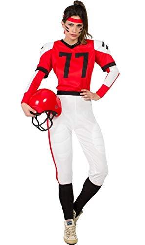 Zzcostumes Rugby-Spieler-Kostüm XL