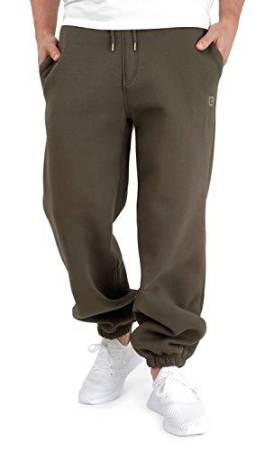 BACKSPIN Sportswear - Jogginghose Basic Farbe Dunkel Olivgrün, Größe 5XL
