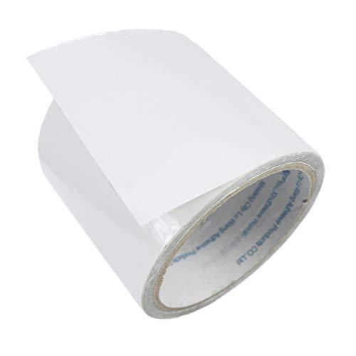 LANUCN 5 M Professional Unsichtbares Wasserdichtes Zeltreparaturband Transparentes Hochleistungsklebeband für PVC-beschichtetes Zelt/Markise/Pavillon/Abdecktuch(8cm x 5m)