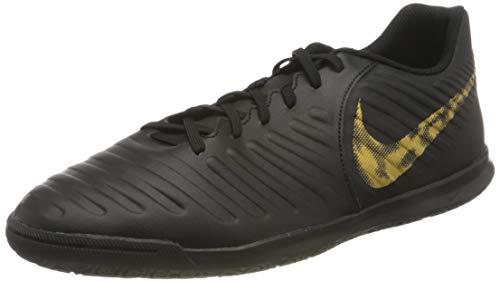 Nike Herren LegendX 7 Club IC Fußballschuhe, Schwarz (Black/MTLC Vivid Gold 077), 47 EU