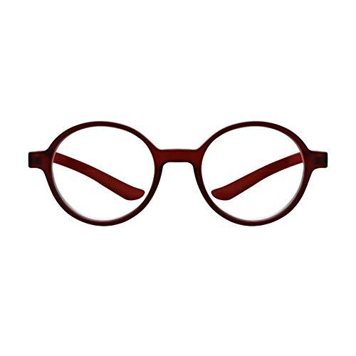 Forever - Anti-Blaulicht-Brille - Lese-/Computerbrille - 6 Sehstärken - Sturzprophylaxe mit gebogenen Bügeln