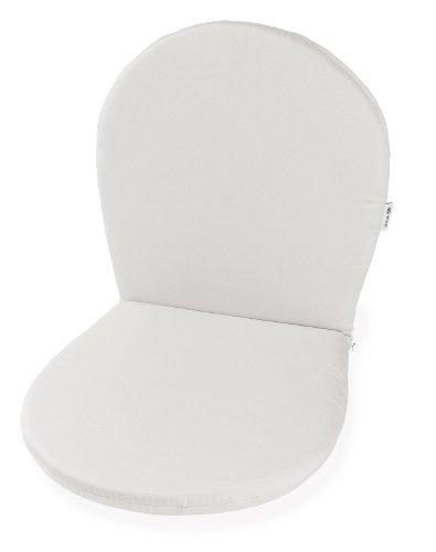 Emu 301160070012 Ronda Sitz und Ruecken Kissen für Stuhl und Armlehnstuhl C/116, 2-er Set, weiss
