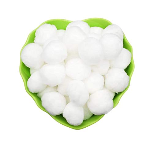 WANGYONG Filter Balls 700g Filterbälle Filtermaterial ersetzen 25 kg Filtersand für Pool Sandfilter, entfernt feinste Schmutzteilchen