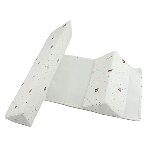 NOENNULL Seitenstützkissen für Babys, Baby Seite Schlafkissen Dreieck Baby Lagerungskissen zum Schlafen Tiefschlafen