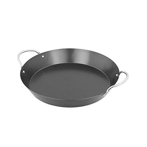 Campingaz Paellapfanne, antihaftbeschichtet, für das Culinary Modular System Ø 35 cm, Höhe 8 cm, verchromte Griffe