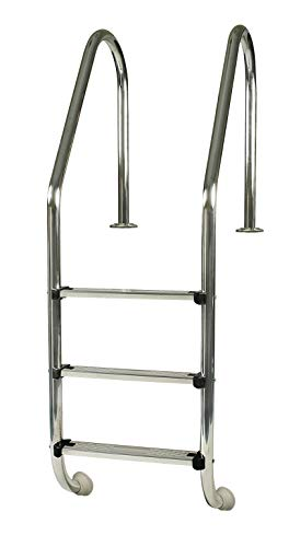 Gre 40110 - Standard Stahlleiter für Einbaupool, 154 cm