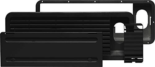 Dometic 9104115591 Lüftungsgitter- Set LS 100, schwarz