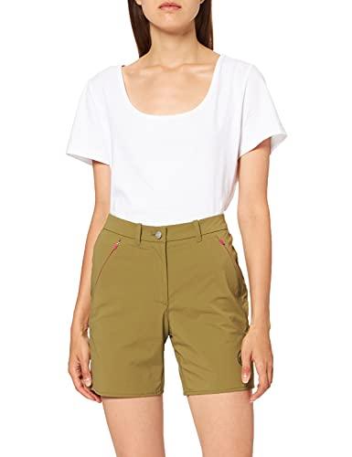 Mammut Damen Hiking Shorts, Olive, 40 EU