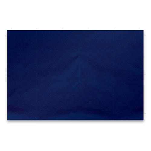 Nexos 2 Stück Seitenwände Seitenteile Ersatzwände ohne Fenster für Falt-Pavillon – 295 x 215 cm/PE 180 g/m² – hochwertig wasserabweisend – blau