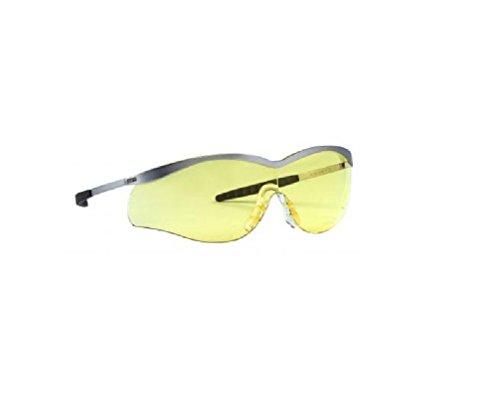 North Brille Schutzbrille Lightning 9085 Metall +4A Einheitsgröße Gelbe Gläser
