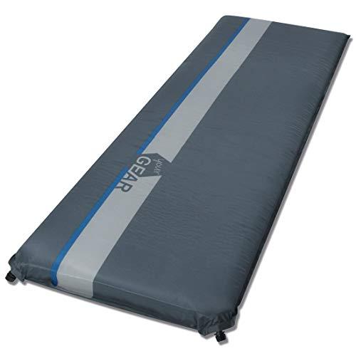 your GEAR ISO 700 selbstaufblasbare Isomatte 200x63x7 cm wasserdichte Thermo-Matte Luftmatratze Luftbett