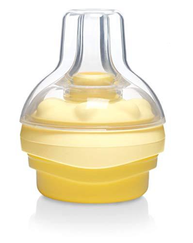 Medela Calma BPA-freier Milchsauger – Für die gesamte Stillzeit – Entwickelt, um das natürliche Saugverhalten des Babys zu unterstützen