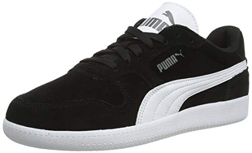 PUMA Unisex Icra Trainer SD Sneaker, black-white, 44.5 EU
