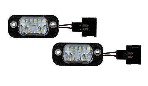 2 x Premium LED Kennzeichenbeleuchtung Golf 3 Polo 6N Seat Ibiza 6K Cordoba