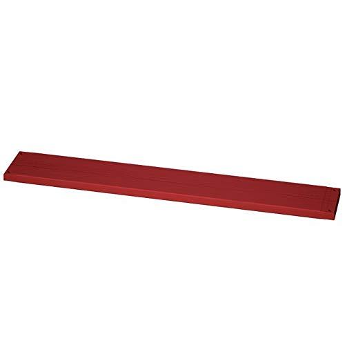 Gerüstbohle aus Holz rot imprägniert 45 x 240 x 3000 mm (HxBxL) Klasse S10 Spezialimprägnierung