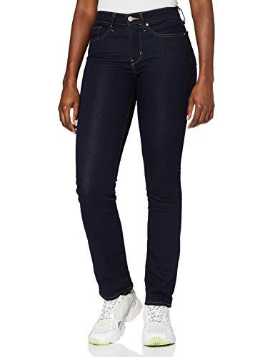 Levi's Damen 314 Shaping Straight Jeans, Dunkelster Himmel, 32W / 32L