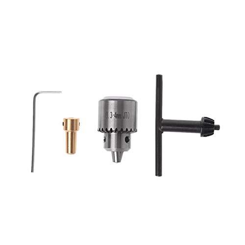 XCQ 4X elektrische Bohrfutterzangen 3,17mm-Wellen-Pleuelstange mit 0,37 mm Taste dauerhaft 0606