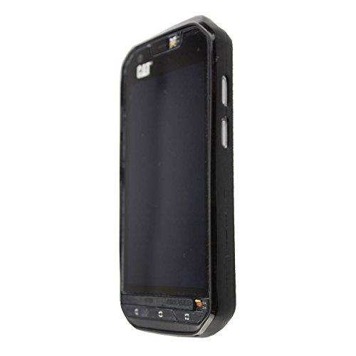 caseroxx TPU-Hülle für Cat S60, Tasche mit und ohne Displayfolie (TPU-Hülle, schwarz)