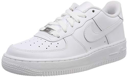 Nike Air Force 1 (Gs) Basketballschuhe, Weiß, 39 EU