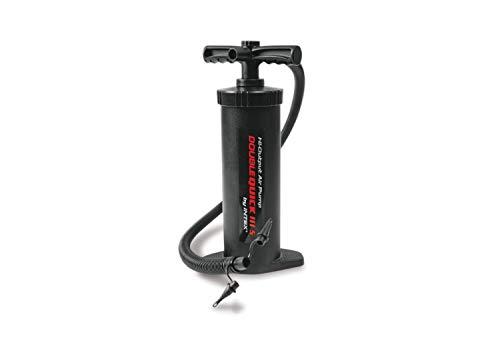 Intex Double Quick 3 S Hand Pumpe - Luftpumpe - 37 cm - Mit 3 Düsenaufsätze