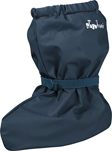 Playshoes Unisex Baby mit Fleece-Futter leichte Krabbel-Schuhe Krabbelschuhe Krabbel-Schuhe, Blau (marine 11), Small