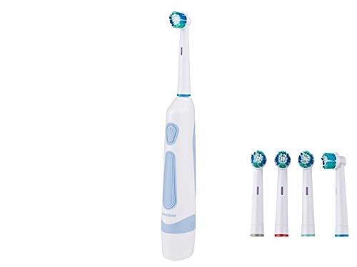 Nevadent elektrische Zahnbürste inklusive 4 Bürstenköpfen NBZ 45 A1