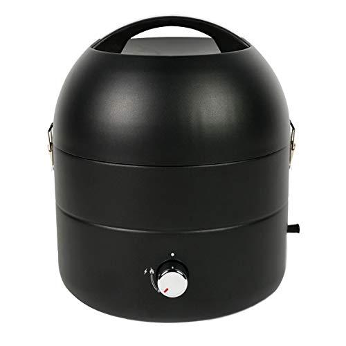 TAINO Tischgrill Kompakt-Grill Gasgrill Gas Tisch Edelstahl-Brenner BBQ Camping (Grill-to-Go)