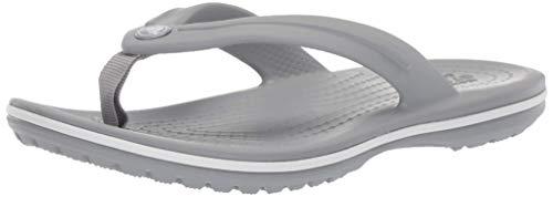 Crocs Unisex-Kinder Crocband Flip GS' Zehentrenner, Grau (Light Grey), 35 EU