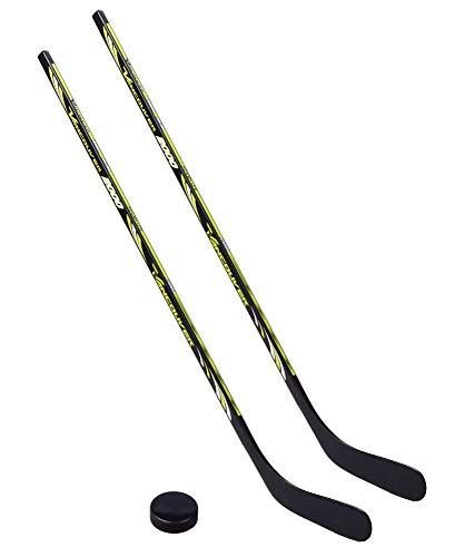 Unbekannt 2 x Vancouver Eishockeyschläger 2000-100 cm, Kids Plus 1 Puck