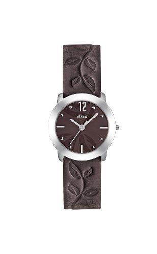 s.Oliver Damen-Armbanduhr Analog Quarz SO-1839-LQ
