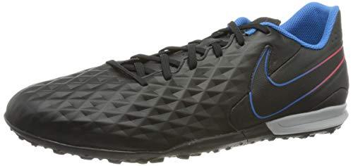 Nike Herren Legend 8 Academy Tf Schuhe, Black Black Siren Red Light Photo Blue Cyber, 47 EU