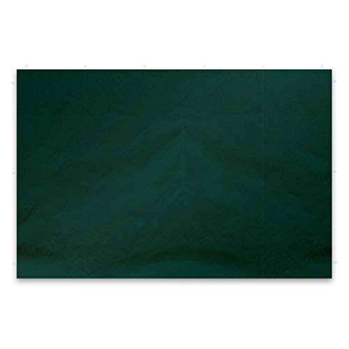 Nexos 2 Stück Seitenwände Seitenteile Ersatzwände ohne Fenster für Falt-Pavillon – 295 x 215 cm/PE 180 g/m² – hochwertig wasserabweisend – grün