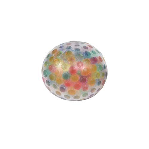 Sticky Globbles Ball schwammiger Regenbogen-Ball, bunter Ball,Sensory Fidget Toy für Erwachsene