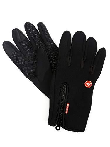 Trainingshandschuhe Damen schwarz ELASTO Fitness Handschuhe Damen MTB Handschuhe Damen L Alround Handschuhe Fahrrad Handschuhe Damen Nordic Walkinghandschuhe Damen Noppen Handschuhe Touchscreen