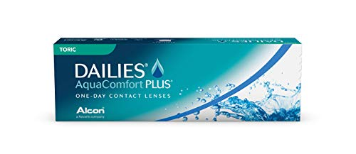 Dailies AquaComfort Plus Toric Tageslinsen weich, 30 Stück, BC 8.8 mm, DIA 14.4 mm, CYL -0.75, ACHSE 180, -2.5 Dioptrien