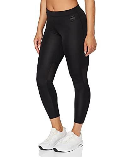 Amazon-Marke: AURIQUE Petite Damen Sportleggings, Schwarz (Black), 42, Label:XL