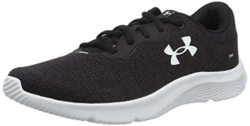 Under Armour Herren Mojo 2 Joggingschuhe mit überlegener Traktion Gym Schuhe für Indoor und Outdoor Workout, Schwarz Weiß Weiß 001, 43 EU